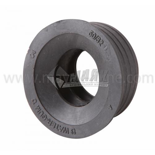 Редукція ПВХ внутрішня каналізація 50×32 мм чорна