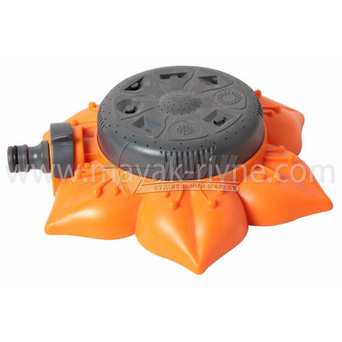 Розпилювач пластиковий круговий Bradas LE8111/GL8111 на підставці Квітка