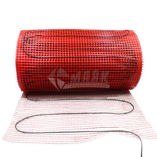 Мат нагрівальний для теплої підлоги двожильний FLEX Heating EHM-175 2,625кВт 15 кв.м