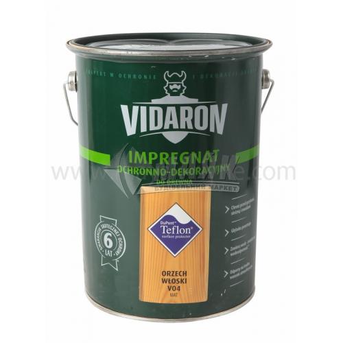 Захист для деревини Vidaron Impregnat 4в1 V04 9 л горіх грецький