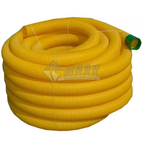 Труба дренажна зовнішня каналізація DYKA 50 мм