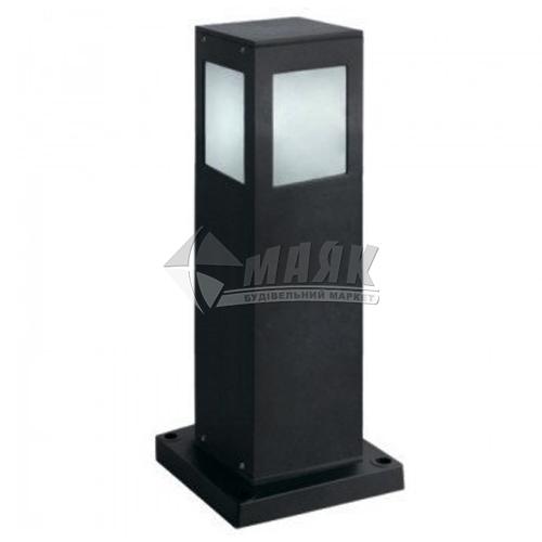 Світильник вуличний HOROZ KAVAK/SQ-4 60Вт Е27 IP44 стовпчик чорний
