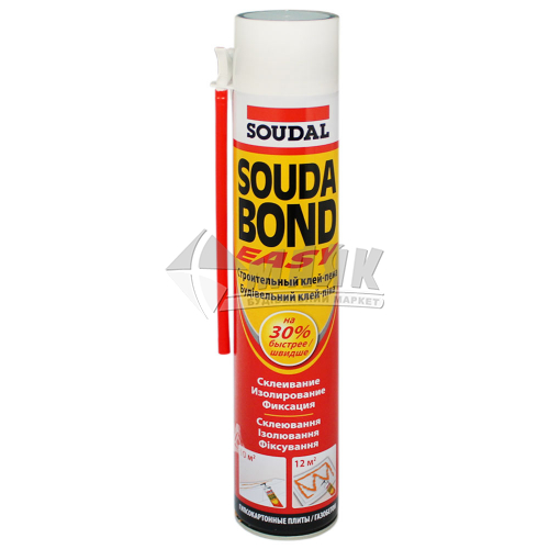 Піна-клей монтажна ручна для пінопласту Soudabond Easy літня 750 мл