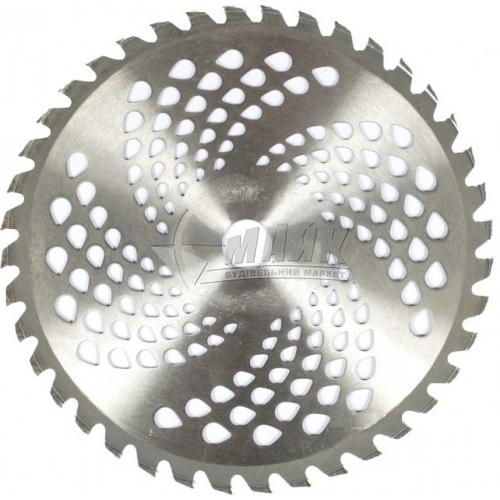 Ніж до мотокоси 40-ка зубцевий нержавіюча сталь