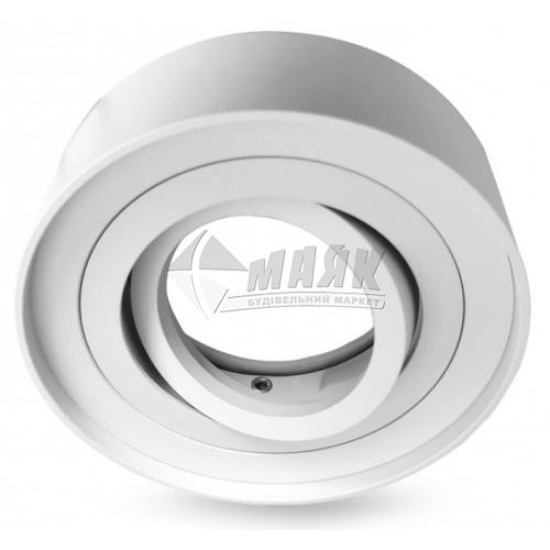 Світильник точковий вбудований Feron МL344 GU5.3/G5.3 MR16 поворотний круглий білий