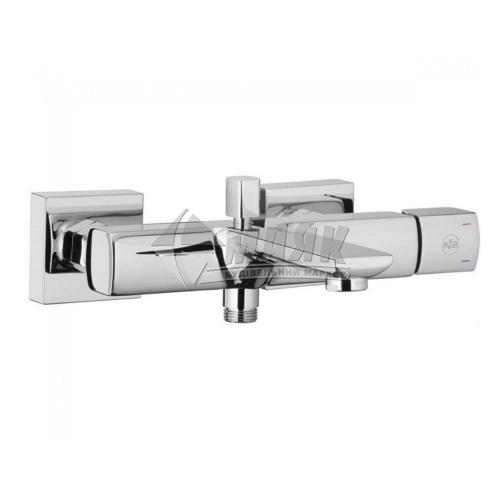 Змішувач для ванни Armatura Morganit без душового комплекту одноважільний настінний