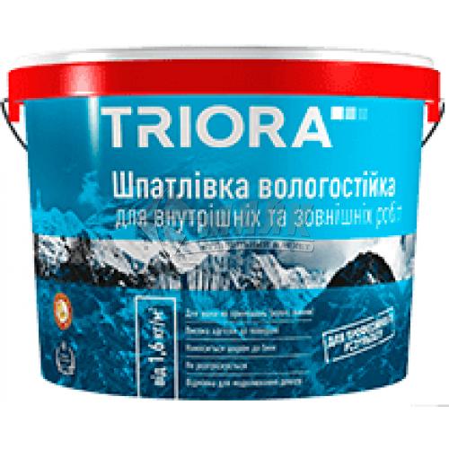Шпаклівка акрилова TRIORA вологостійка універсальна 1,5 кг