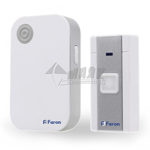 Дзвінок дверний Feron Е-372 36 мелодій білий