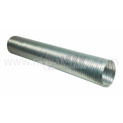 Повітровід гнучкий алюмінієвий АТЕ 130 мм 3 м