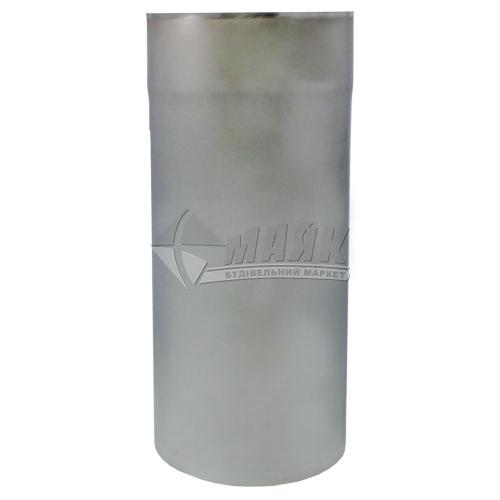 Труба димоходу ВЕНТ УСТРІЙ 0,5×130 мм 0,3 м нержавіюча сталь 201