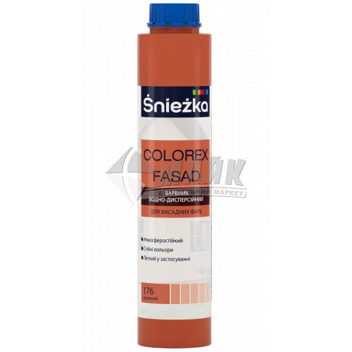 Барвник Sniezka Colorex Fasad 0,75 л 176 цегляний