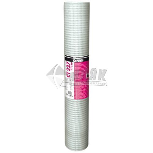 Склосітка армуюча антивандальна Ceresit СТ327 330 г/кв.м 6×10 мм 1×25 м