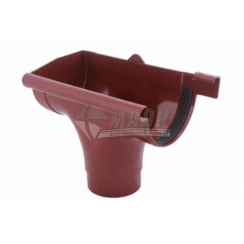 Лійка (воронка) пластикова ліва L Profil 130/100 червона