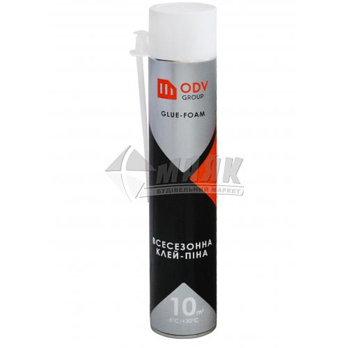 Піна-клей монтажна ручна для систем теплоізоляції ODV Group зимова (всесезонна) 840 мл
