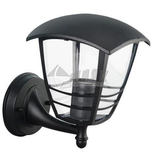 Світильник вуличний HOROZ NAR-1 60Вт Е27 IP44 настінний чорний