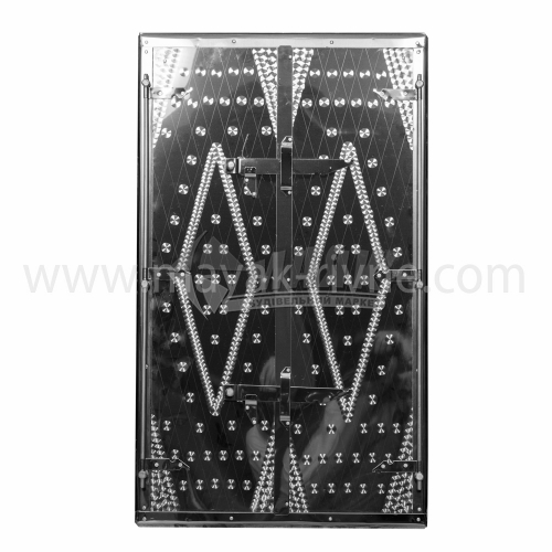 Дверцята для коптильні нержавіюча сталь 500×900 мм 8,4 кг