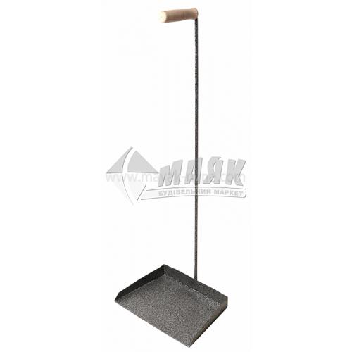 Совок для сміття металевий Офісний №5 280×190 мм 0,94 кг молоткова фарба