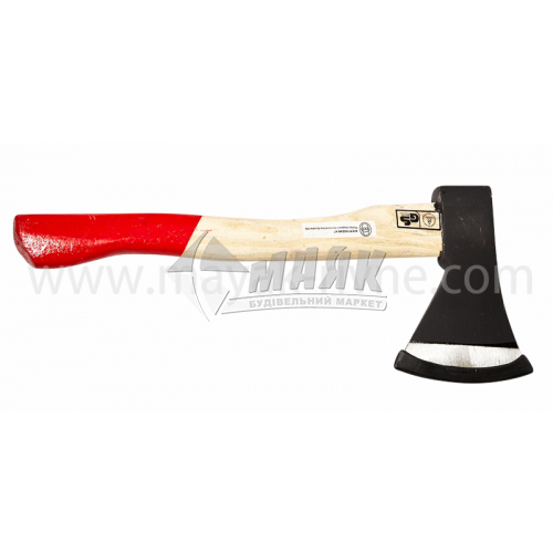 Сокира Євро 600 г дерев'яна ручка