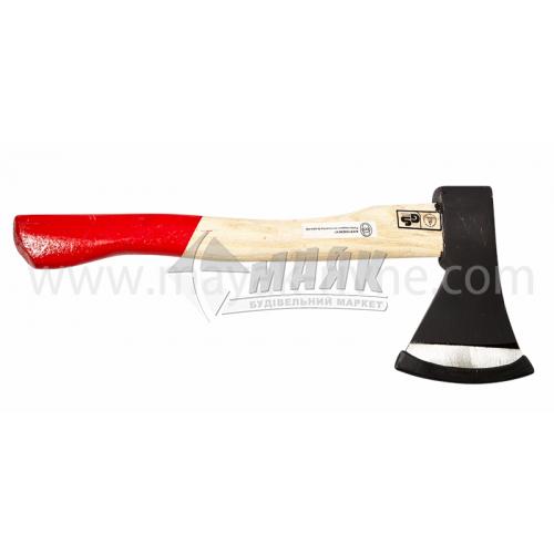 Сокира Євро 800 г дерев'яна ручка