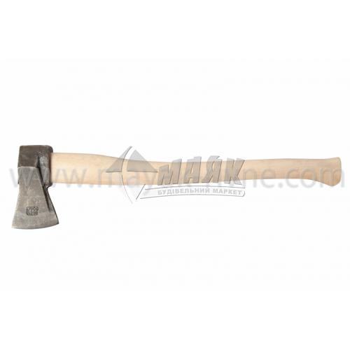 Сокира з клином JUCO Традиція 1200 г дерев'яна ручка