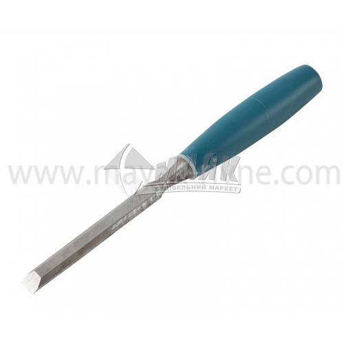 Стамеска плоска Євро 12 мм пластикова ручка