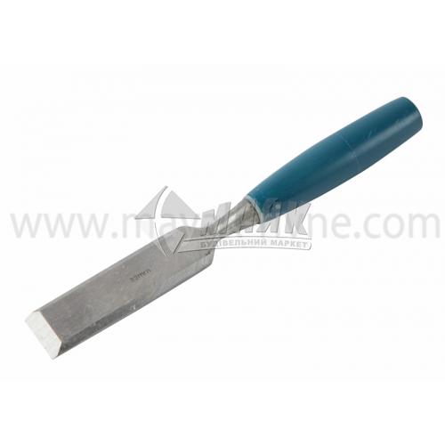 Стамеска плоска Євро 32 мм пластикова ручка