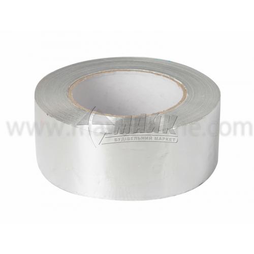 Стрічка клейка алюмінієва для сауни 50 мм×5 м