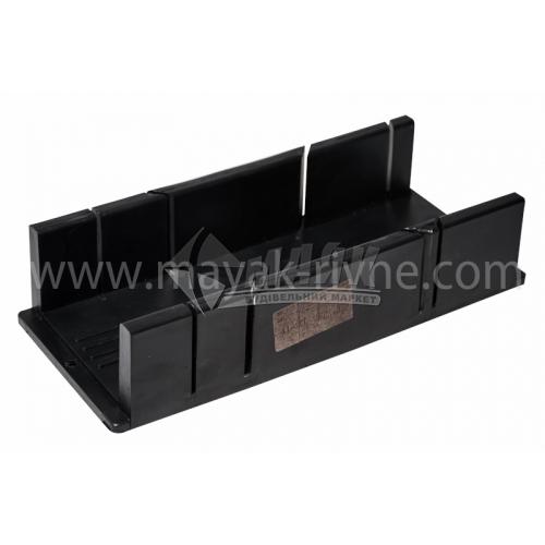 Стусло для ножівки 30°-45°-90° 310×70×100 мм пластикове