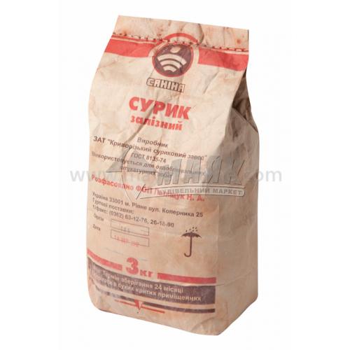 Сурік залізний Саніна 3 кг