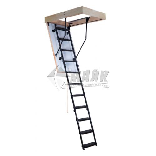 Сходи на горище Oman Solid Termo люк 120×70 см 3 секції