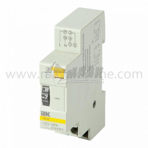 Таймер освітлення на DIN-рейку IEK ТО47 16А 230В