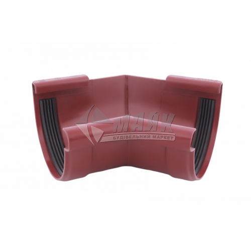Кут внутрішній пластиковий Profil W 135° 90/75 червоний