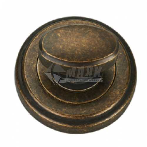 Фіксатор круглий MVM WC T6 AMAB антична стара бронза матова