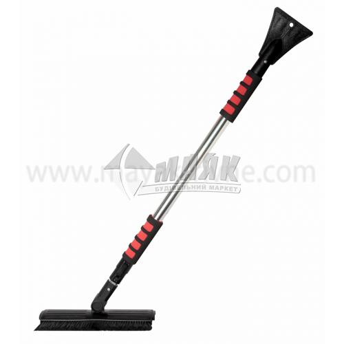 Щітка-скребок автомобільна для снігу і льоду телескопічна ручка 1,57 м