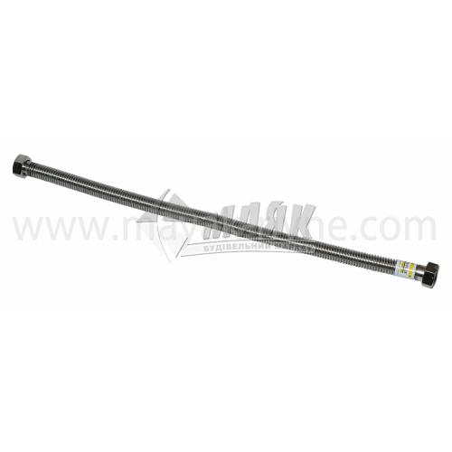 """Шланг з'єднувальний для газу Eco-Flex 3/4"""" 0,6 м нержавіюча сталь"""