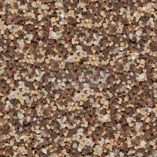 Штукатурка декоративна акрилова для цоколя Anserglob №701 Мозаїка 0,63-1,4 мм 25 кг