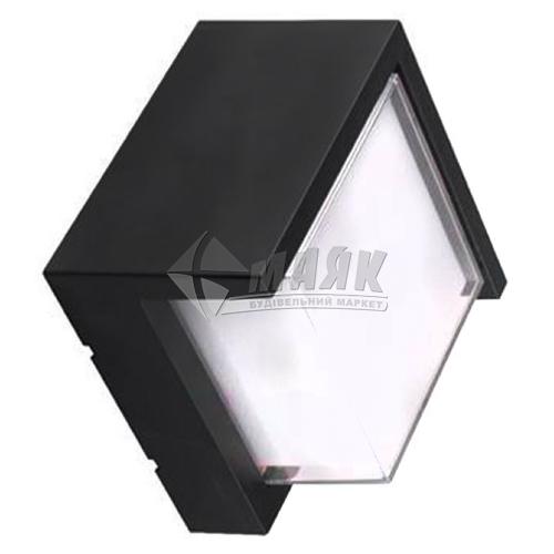 Світильник вуличний HOROZ SUGA-12/SC 12Вт 4200°К IP65 настінний чорний