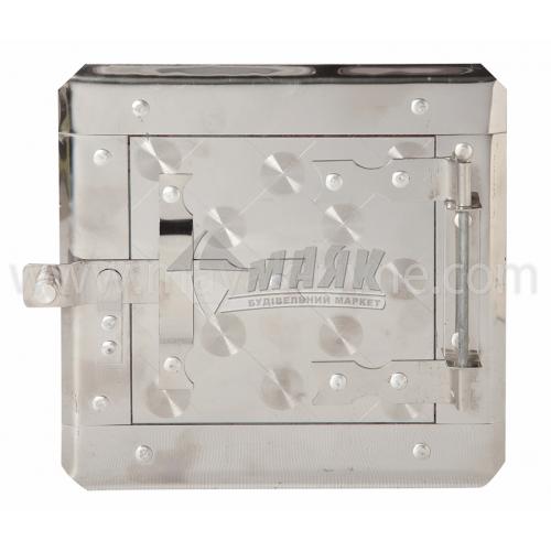 Дверцята прочисні нержавіюча сталь з рамкою 180×180 мм 0,73 кг