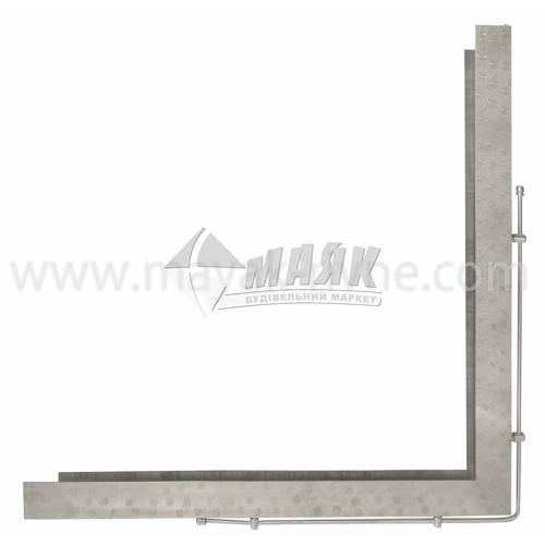 Кутник для плити нержавіюча сталь 900×900 мм 5,73 кг