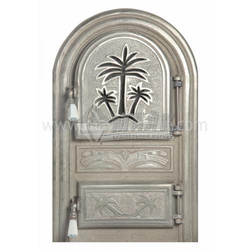 Дверцята спарені декоративні Пальма 340×550 мм 13,73 кг