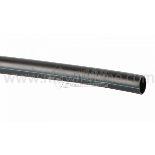 Труба водопровідна поліетиленова 25 мм 10 атмосфер