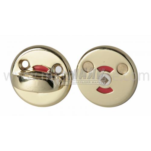 Фіксатор круглий Apecs WC-0608-G золото