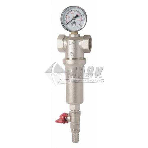 """Фільтр водяний з манометром Santan RBM 1/2"""" самоочисний"""