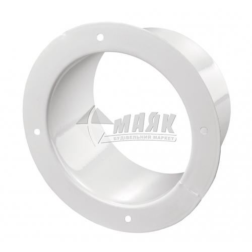 Фланець вентиляційний VENTS Ф 100 зі стопорним кільцем 100 мм