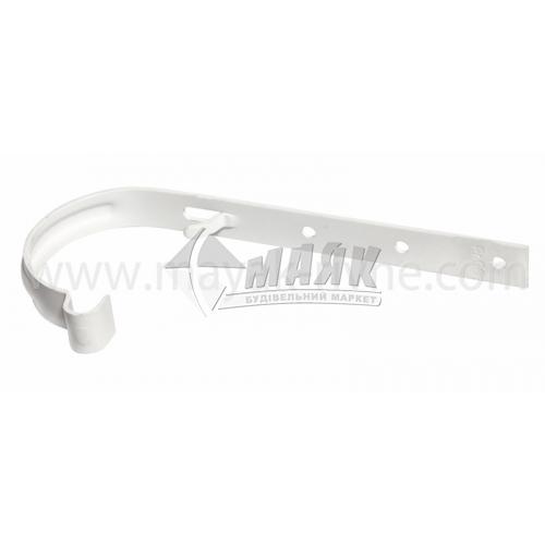 Кронштейн ринви металевий Profil 130/100 білий