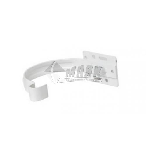 Кронштейн ринви металевий малий Profil 90/75 білий