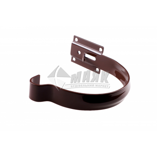 Кронштейн ринви металевий малий Profil 90/75 коричневий