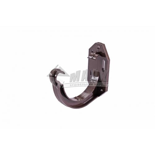 Кронштейн ринви пластиковий Profil 90/75 коричневий