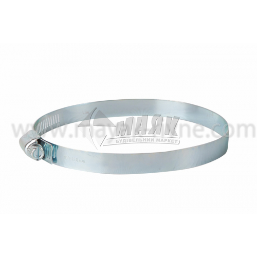 Хомут затяжний сталевий оцинкований 20-30 мм