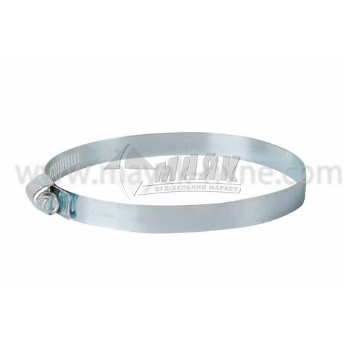 Хомут затяжний сталевий оцинкований 110-130 мм